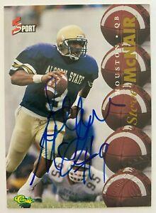1995 STEVE MCNAIR Classic 5 Sport Rookie Autograph, Alcorn State, Titans