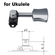NEW - GOTOH STV31-SB3 STEALTH UKULELE Lightweight Tuners 2x2 - CHROME