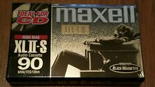 8 Maxell XLII-S 90 Minutes Type II High Bias Audio Cassette Tapes