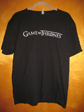 New listing Mens Unisex Black Game of Thrones T-shirt Size Large Time Warner Cable TWC HBO