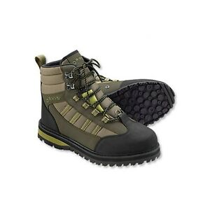 WADING BOOT ( Orvis Encounter with Vibram Rubber Sole ) Sizes: 5 to 14 Men's