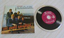 CD POCHETTE CARTON SOUPLE LES CHATS SAUVAGES DERNIERS BAISERS 19 TITRES 1997
