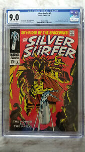 Silver Surfer #3 CGC 9.0 VF/NM    1st Appearance of Mephisto