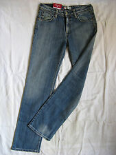 LEVI'S 627 Straight Damen Blue Jeans Stretch W28/L34 normal waist regular fit