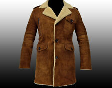 NEW HUGO BOSS Brown Lamb Leather Fur Winter Jacket Coat Veste Manteau 40R 50 M
