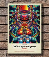 ZA1219 2001 Space Odyssey (1968) Movie Vintage Poster Hot 40x27 36x24 18inch