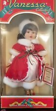 """NEW 16"""" Porcelain Doll - The Vanessa Doll  Collection 1998 Limited Edition"""