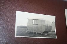 CARAVAN FUN IN THE 30S MAN CAVE SHEPHERDS HUT INSPIRATION ETC ANTIQUE PHOTO