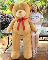 GIANT HUGE BIG STUFFED ANIMAL TEDDY BEAR PLUSH SOFT TOY PILLOW CUTE GIFT cuddly