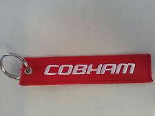 COBHAM Remove Before Flight Tag Military Keychain NEW