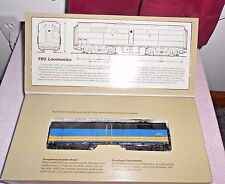PROTO 2000 FB2 DIESEL LOCOMOTIVE DUMMY HO GAUGE VIA RAIL NIB