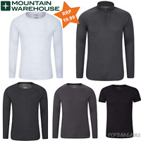 Mountain Warehouse Men Talus Long Sleeved V Neck Baselayer Top