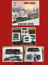 Brand New Thomas Kinkade Christmas Express Train Set