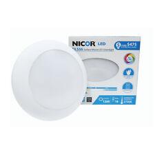 "NICOR 1200 Lumen White 2700K LED Surface Mount Retrofit for 5"" and 6"" Housings"