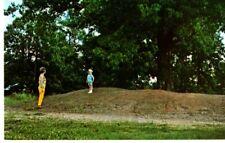 Corinth, MS - Child Standing on Rifle Pit Postcard