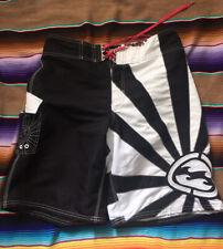 Billanbong Andy Irons Rising Sun Board Shorts Black And White Size 33
