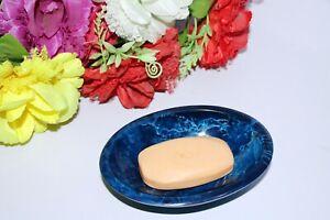 Draining Soap Dish Premium Resin Soap Holder For Bathroom Kitchen Laundry