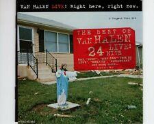 CDVAN HALENright here right now - live2CD EX+  GERMAN 1993 (R2259)