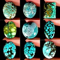 Natural Tibet Turquoise Mix Cabochon Ring Size Untreated Loose Gemstones TC94
