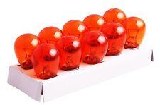 10er Pack Autolicht Blinker Yellow Birnen 12 Volt 21 Watt BA15S Orange Lampen