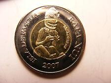 Easter Island, Rapa Nui - Isla De Pascua - Easter Island 500 Pesos, 2007, UNC