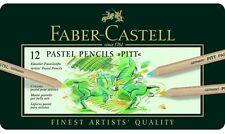 FABER-CASTELL - Pitt Pastello-ARTISTI Qualità Matite-Set di 12