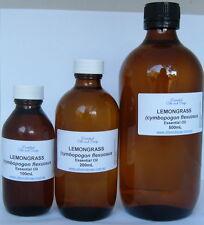 Lemongrass Essential Oil - 200mL -  GREAT VALUE BULK