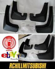 2009-2012 GENUINE OEM MITSUBISHI OUTLANDER MUD SPLASH GUARDS KIT MZ380525EX