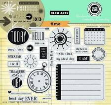 HERO ARTS CLING RUBBER Stamps TIME STAMP YOUR STORY Huge Set Go Your Own Way