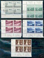 SWITZERLAND PRO PATRIA 1954 BLOCKS