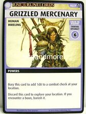 Pathfinder Adventure Card Game - 1x Grizzled Mercenary - Burnt Offerings
