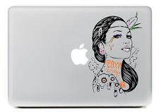 "Native American woman Indian Apple sticker Macbook Air & Pro & Retina 13""15""17"""