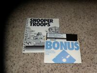"Snooper Troops Disappearing Dolphin for Apple (Version 1.0) 5.25"" disk with book"
