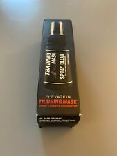 Elevation training mask spray clean