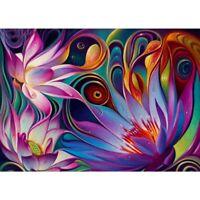 5D Full Drill Diamond Painting Flowers Diamond Mosaic Embroidery Cross Stitch