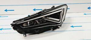 SEAT TARRACO 2018-2021 NEW OEM HEADLIGHT FULL LED LEFT PASSENGER N/S 5FK941007F