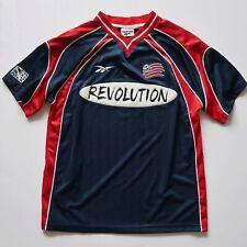 Vintage Reebok 1997 MLS New England Revolution Soccer Jersey Size Mens S SMALL