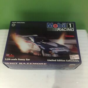 1995 Whit Bazemore Mobil 1 Dodge 1:24 NHRA Funny Car Action Diecast SHIPS FREE