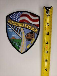 Idaho Police Patch - Gooding Idaho Police Patch