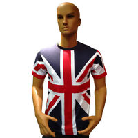 Tour Collection Union Jack Flag T-Shirts London 2017 Team GB Mens/kids Clothing