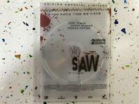 SAW TERROR 2 x DVD EDICION ESPECIAL CARY ELWES DANNY GLOVER MONICA POTTER