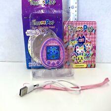 Touma Pet Tamagotchi Best Bootleg Virtual Pet Game Rechargeable USB Pocket Pet