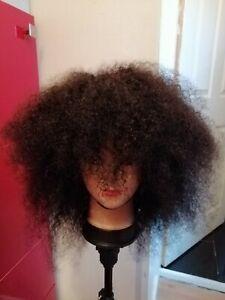Brazilian Afro Kinky Human hair Wig