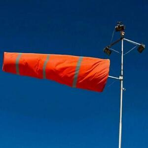 Outdoor Wind Socks Direction Safety Sport Airport Flag Reflective Windsock P6L4
