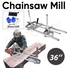 More details for aluminum steel chainsaw mill suits up to 36