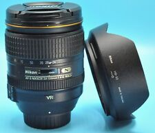 Nikon NIKKOR 24-120mm f/4 AS G SWM AF-S VR IF N M/A ED Lens Exc++++