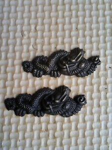 Tsuba Menuki Fuchi Kashira Tsuka Japanese sword fittings