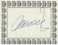 Alan Dershowitz - attorney/author, Genuine Hand Signed Bookplate