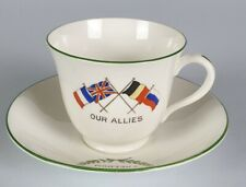 More details for x912 great war peace cup and saucer by heathcote china