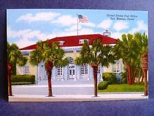 Postcard TX San Marcos U.S. Post Office
